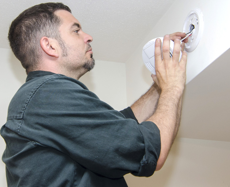 Smoke Alarm Fitting