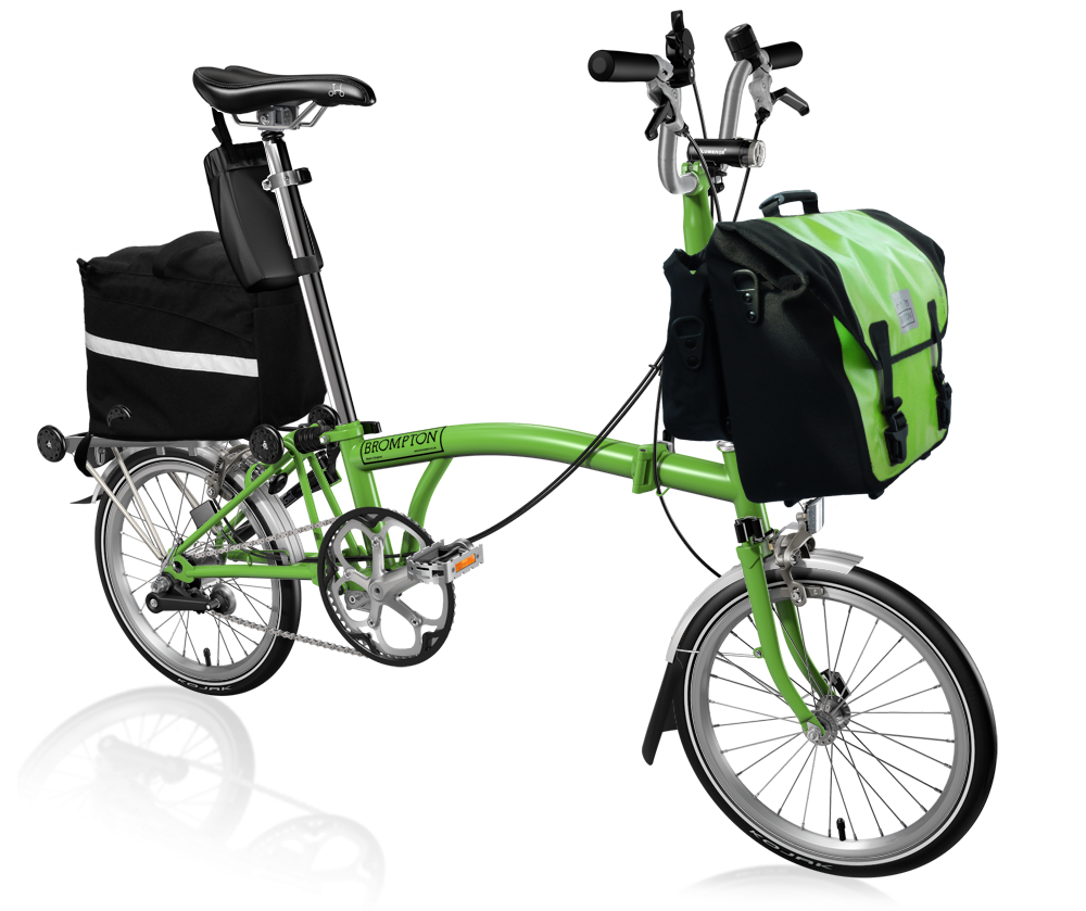 We are as green as our bikes.